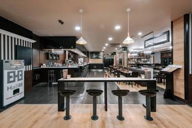 Restaurante - Zenit Hall88 Studios